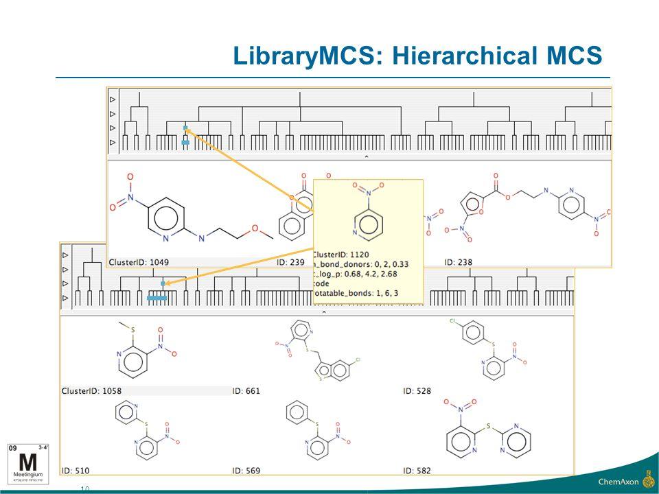 10 LibraryMCS: Hierarchical MCS
