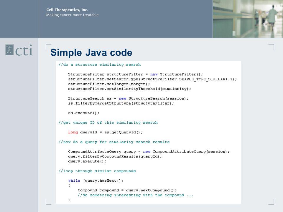 Simple Java code