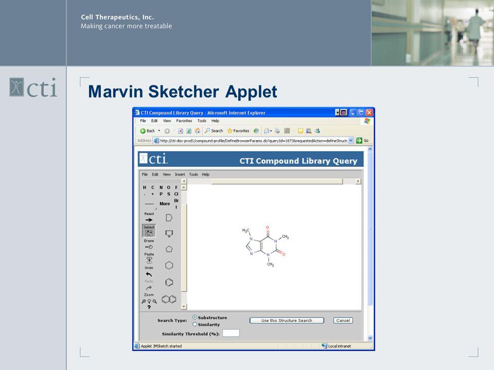 Marvin Sketcher Applet