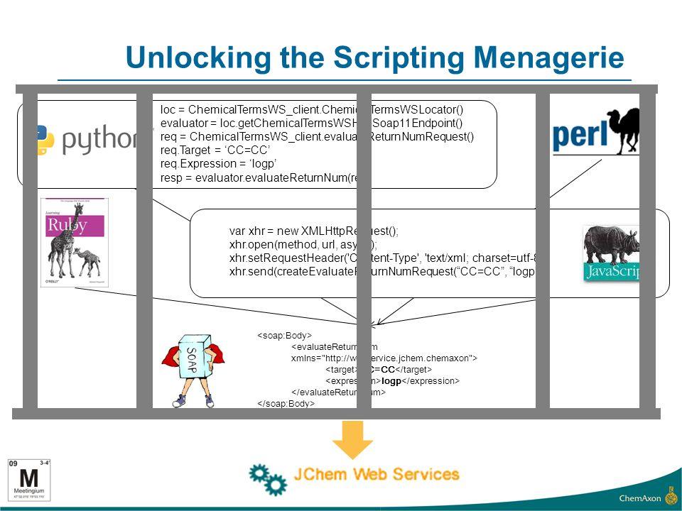 Unlocking the Scripting Menagerie <evaluateReturnNum xmlns=