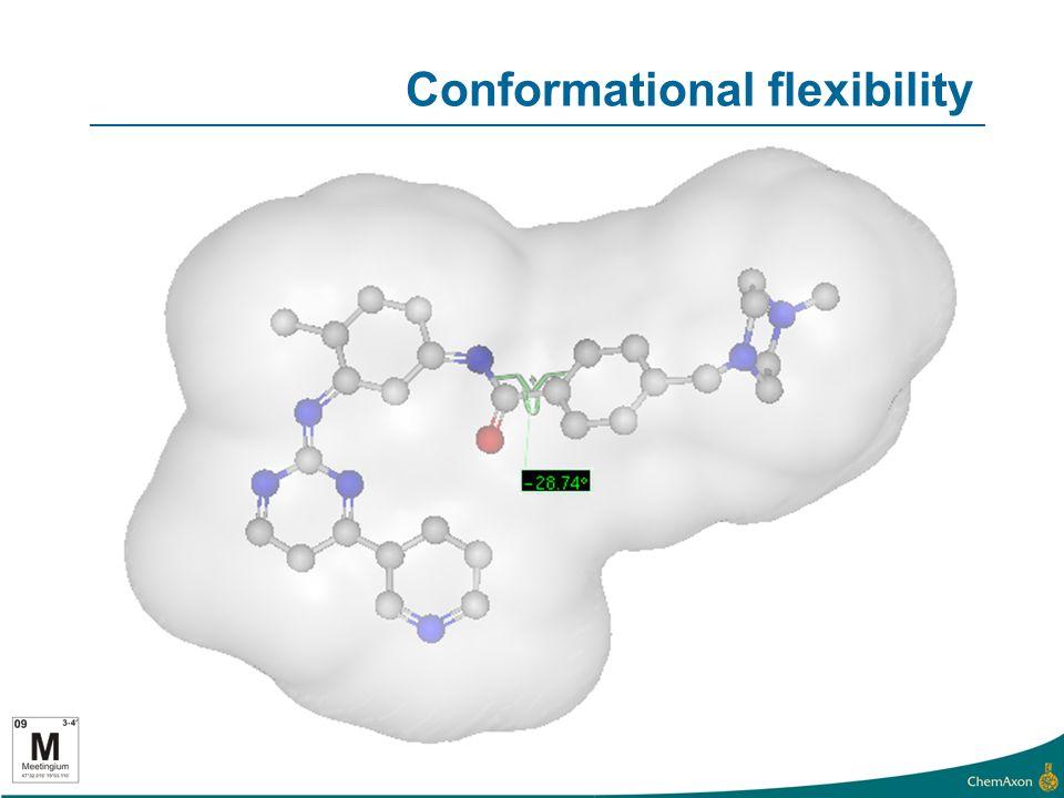 Conformational flexibility