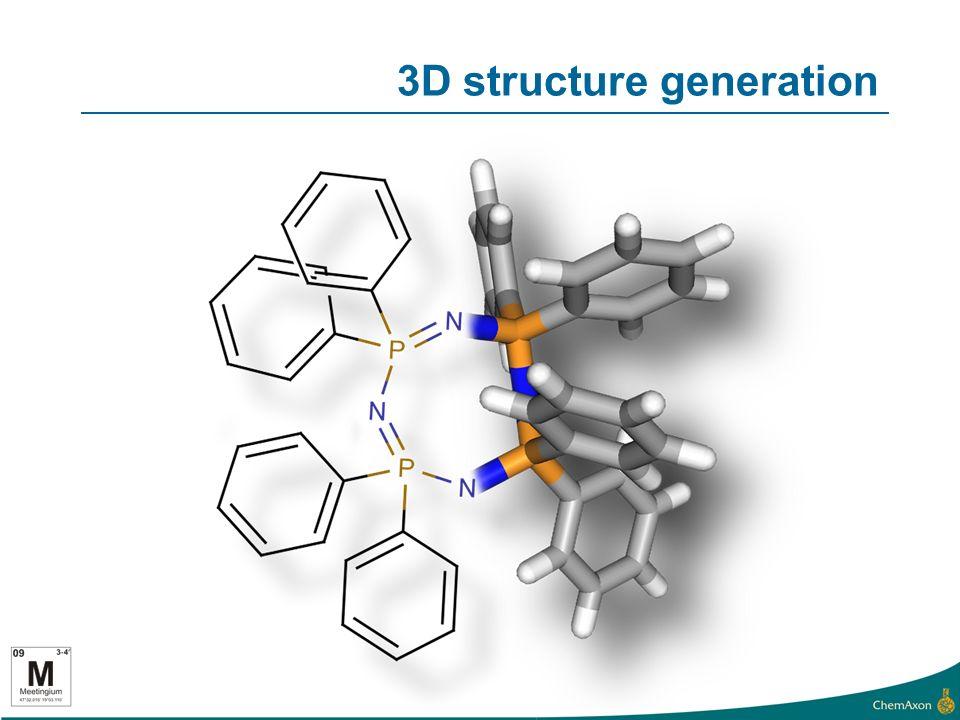 3D structure generation