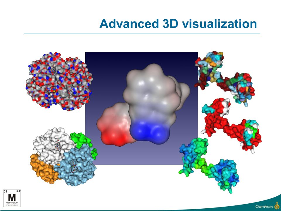 Advanced 3D visualization