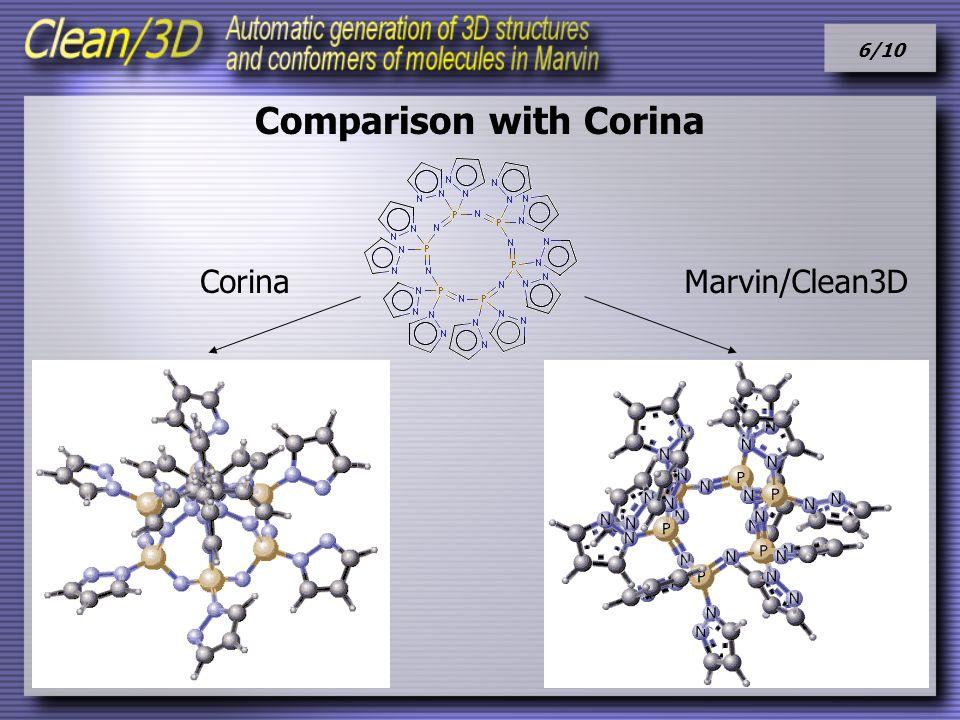 6/10 Comparison with Corina CorinaMarvin/Clean3D