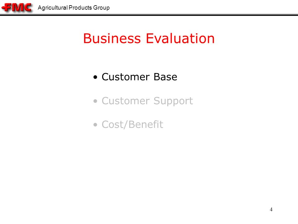 Agricultural Products Group 45 Technical Conclusion Clear and straightforward understanding of – Data Representation – System Architecture Integrated system – Quicker and less error-prone – Less hassle for software development From technical point of view, ChemAxon is favorable