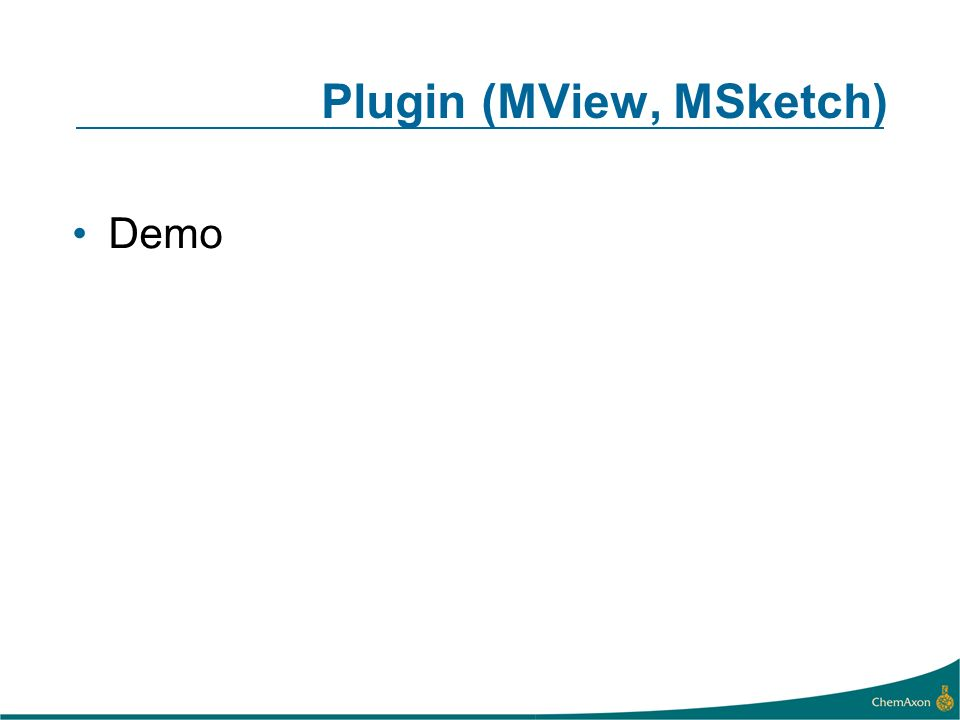 Plugin (MView, MSketch) Demo