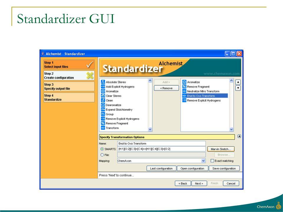 Standardizer GUI