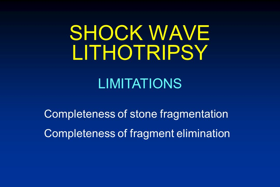 SURGICAL STONE MANAGEMENT MODIFIERS OF STONE-FREE RATE Stone size Stone location Stone composition