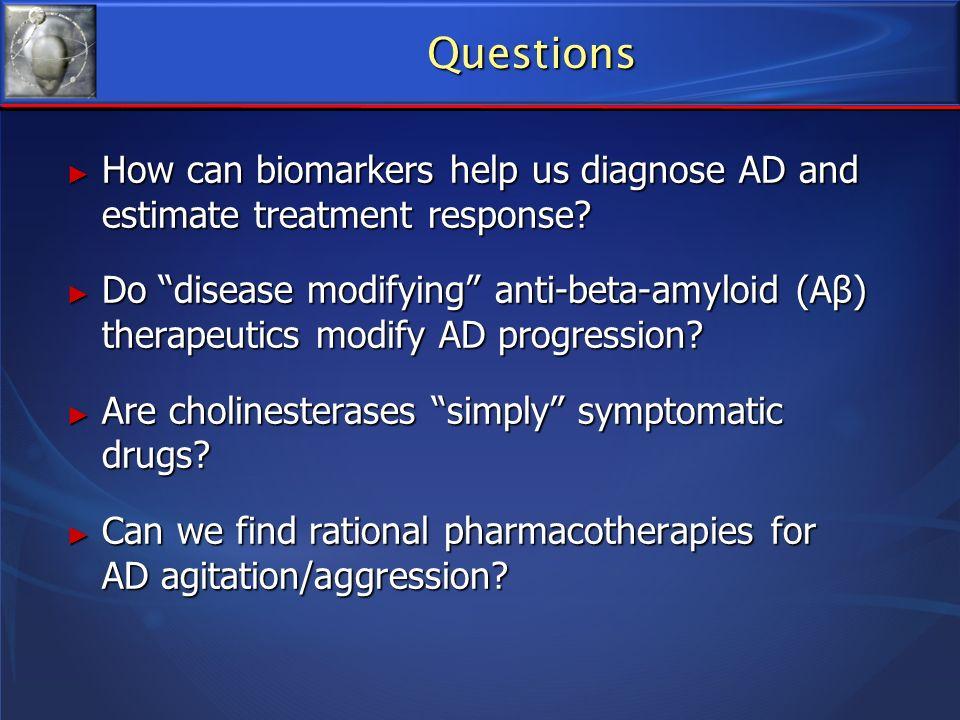 Age: 70 Age: 70 Cognitive symptoms: mild Cognitive symptoms: mild Family history of AD: mother d87 Family history of AD: mother d87 Biomarkers: genetic (apoE); CSF (ß42, total tau, phospho tau); neuro-imaging (MRI, FDG-PET) Biomarkers: genetic (apoE); CSF (ß42, total tau, phospho tau); neuro-imaging (MRI, FDG-PET) Current Rx: follow over time Current Rx: follow over time Future Rx: anti-amyloid Future Rx: anti-amyloid Older Person with MCI