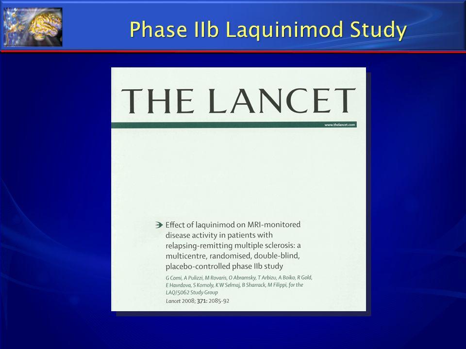 Phase IIb Laquinimod Study