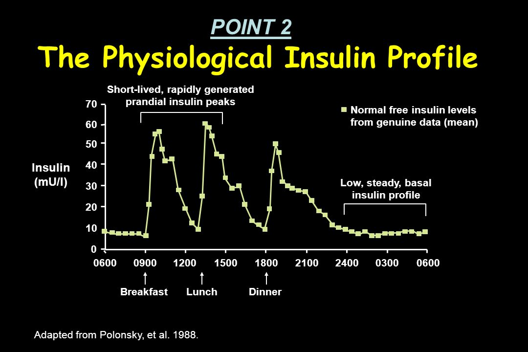 Definitions for Flexible Diabetes Management Basal insulin replacement that insulin required to suppress hepatic glucose production over night and between meals Bolus (prandial or mealtime) insulin replacement that insulin required to dispose of glucose in muscle after eating Standardization of Terminology