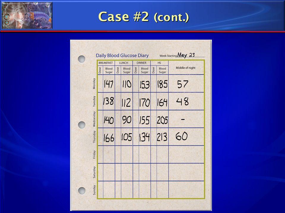 Case #2 (cont.)