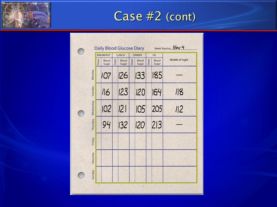 Case #2 (cont)