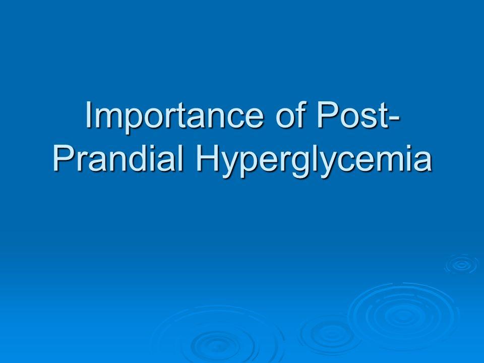 Post-Prandial Glucose Disposal ( Woerle Hans J et al AJP Endo Metab 2003 )