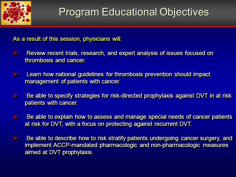 Symptomatic VTE in Pancreatic Cancer 1/22; 4.5% 5/19; 26.3% Khorana et.al.