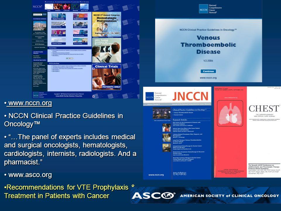 www.nccn.org www.nccn.org NCCN Clinical Practice Guidelines in Oncology NCCN Clinical Practice Guidelines in Oncology …The panel of experts includes m