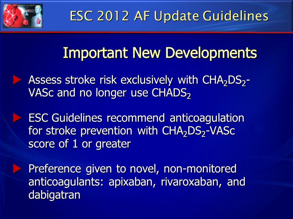 ESC 2012 AF Update Guidelines