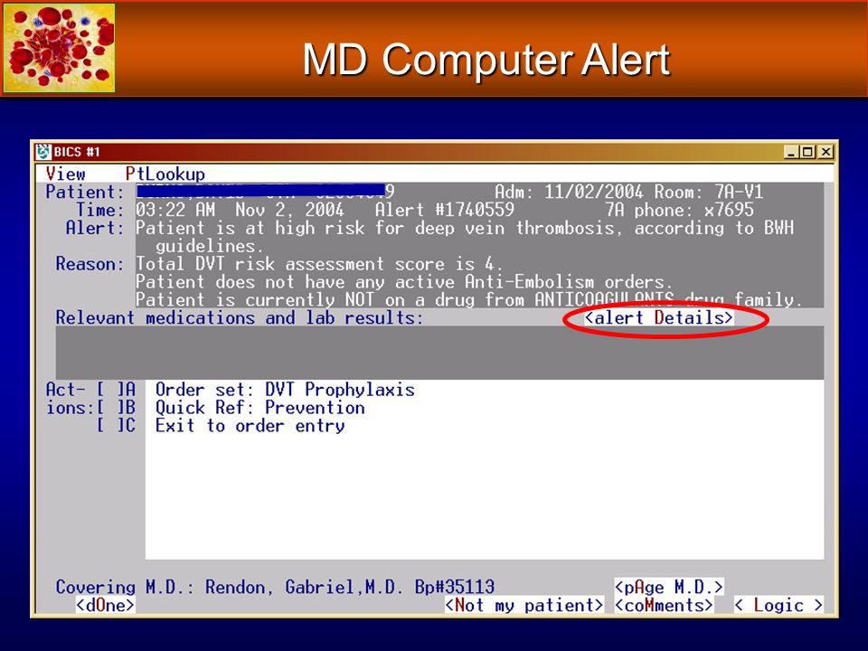 MD Computer Alert