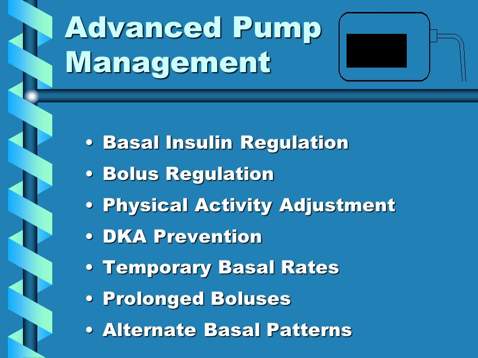Basal Insulin Regulation Basal Insulins One And Only Job Is To Hold Blood Glucose Levels Steady In the Absence of Confounding Influences*Basal Insulins One And Only Job Is To Hold Blood Glucose Levels Steady In the Absence of Confounding Influences* * Food, Exercise, Bolus Insulin, Unusual Hormonal Conditions (illness, rebounds, menstruation)