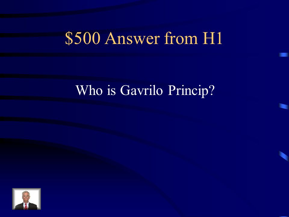 $500 Question from H1 Serbian assassin