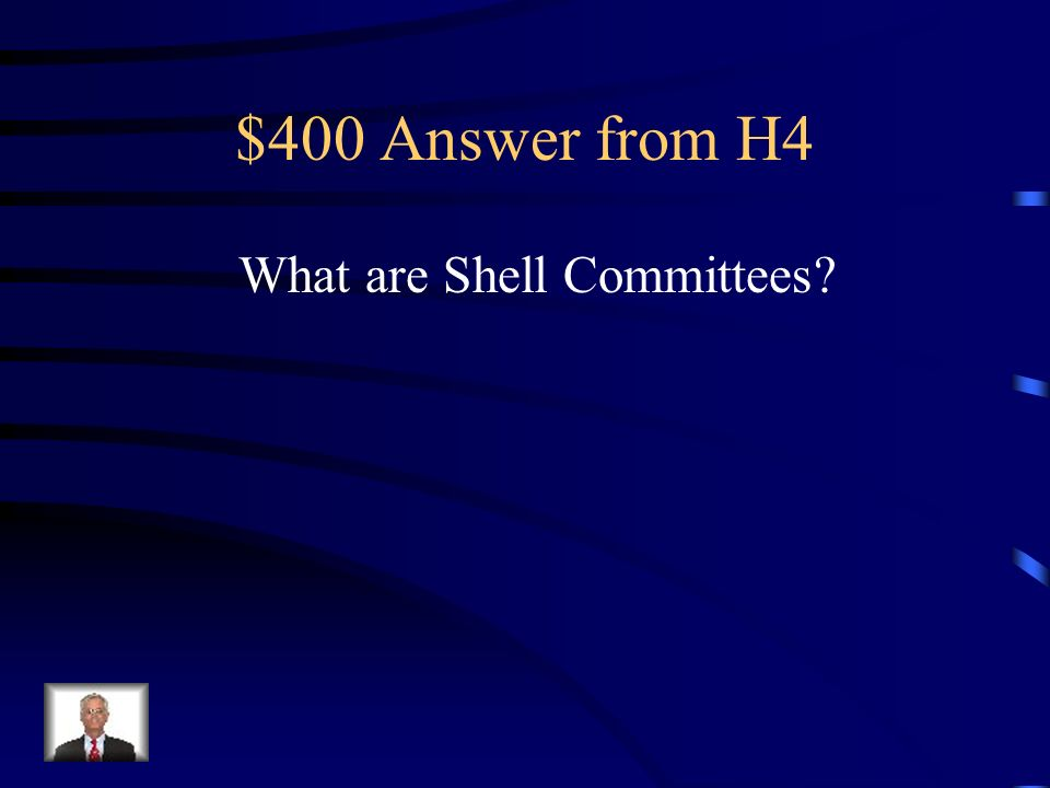 $400 Question from H4 Organization that did a poor job of producing armaments