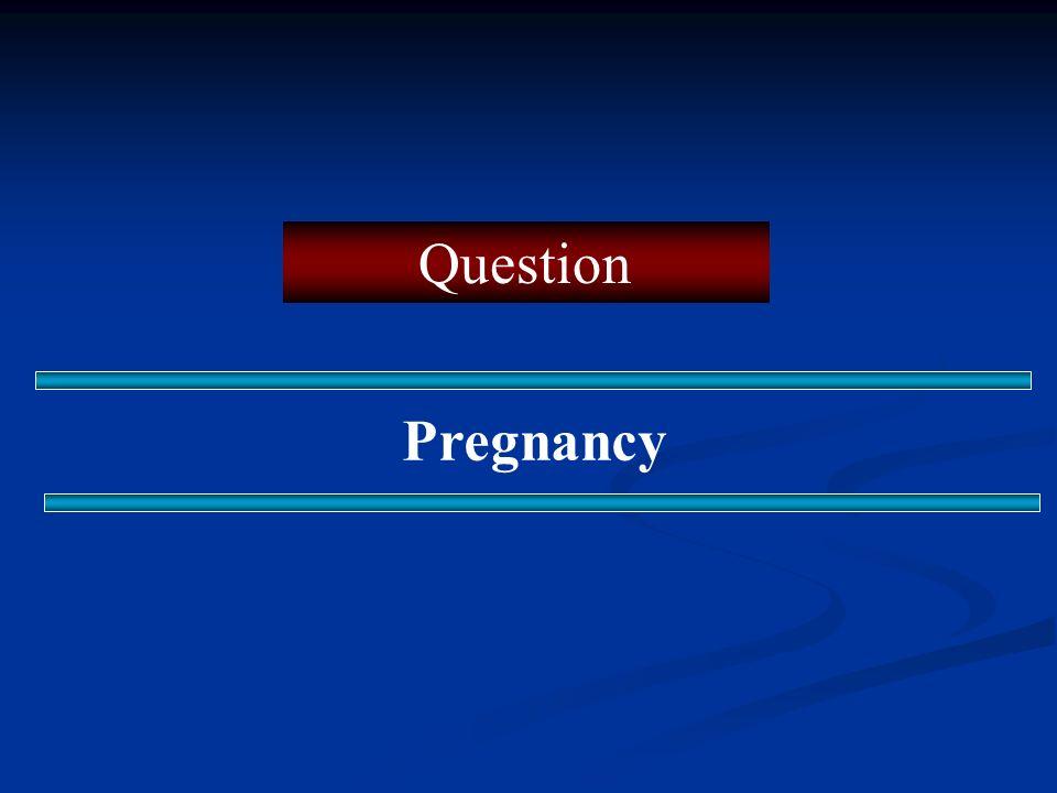 Question Pregnancy