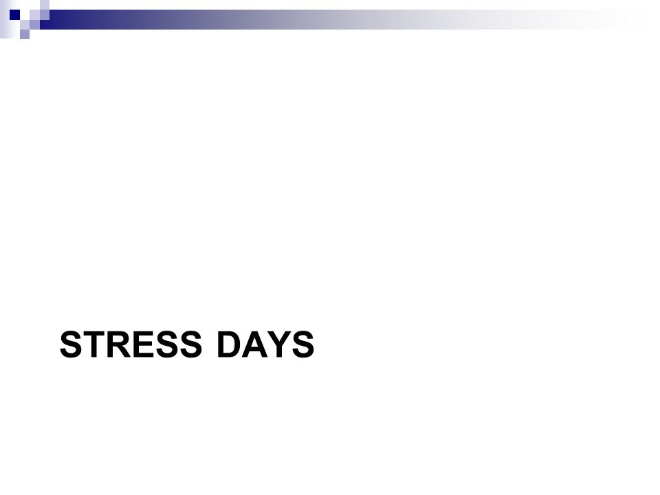 Stress & Diabetes Impact very individual Mild stress can lower BGs However, stress often raises BGs Hard to evaluate as different from day- today When body is exposed to stress Release of Adrenaline Stone age fight or flight response Increased blood glucose Liver releases more glucose Decrease movement of glucose into cells