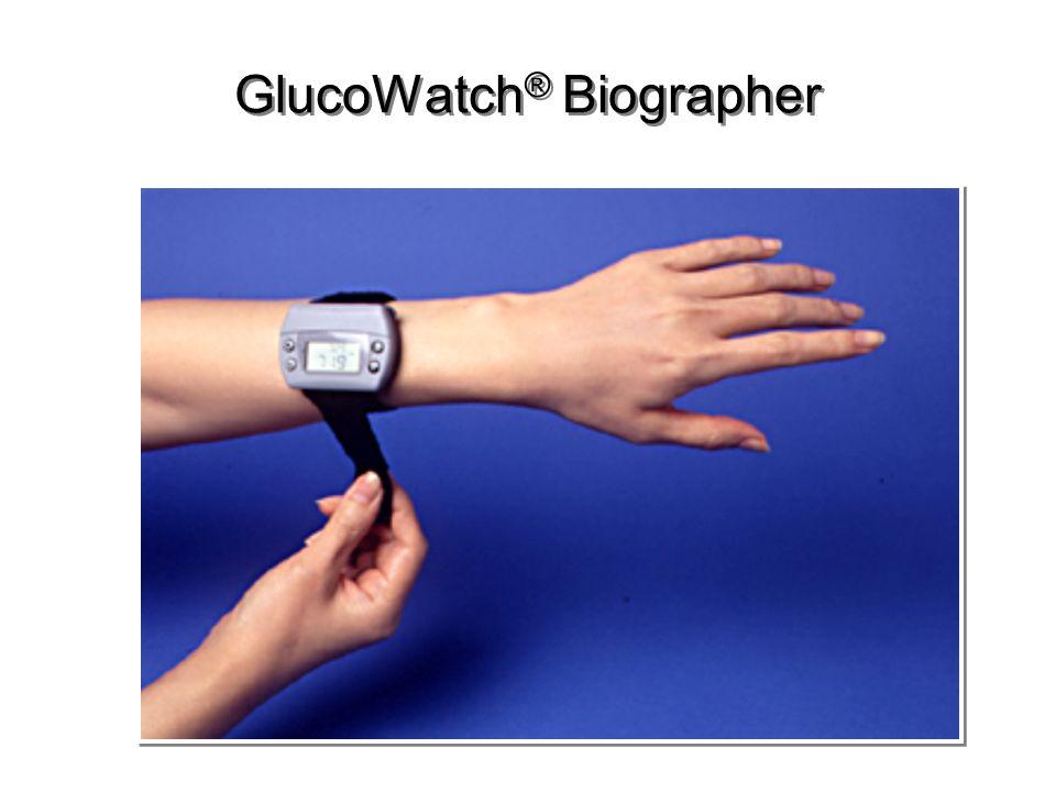 GlucoWatch ® Biographer