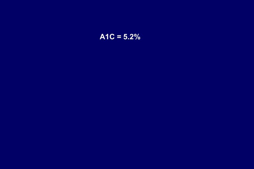 A1C = 5.2%