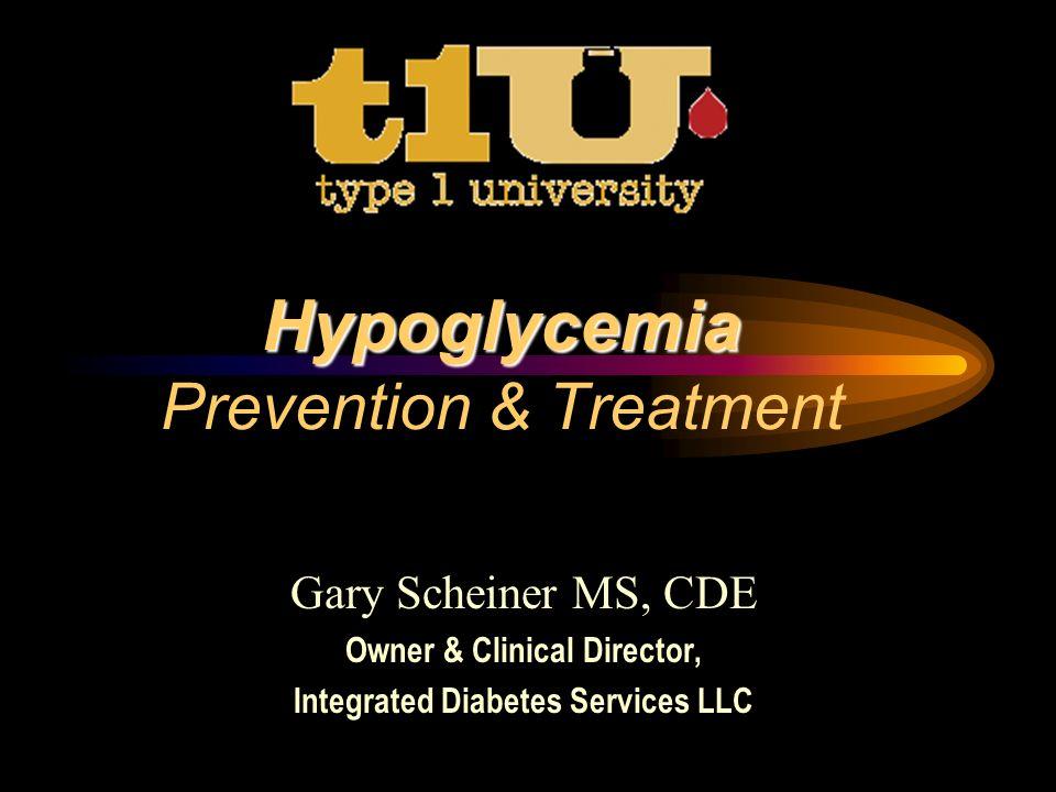 Hypoglycemia Prevention Strategies 1d.