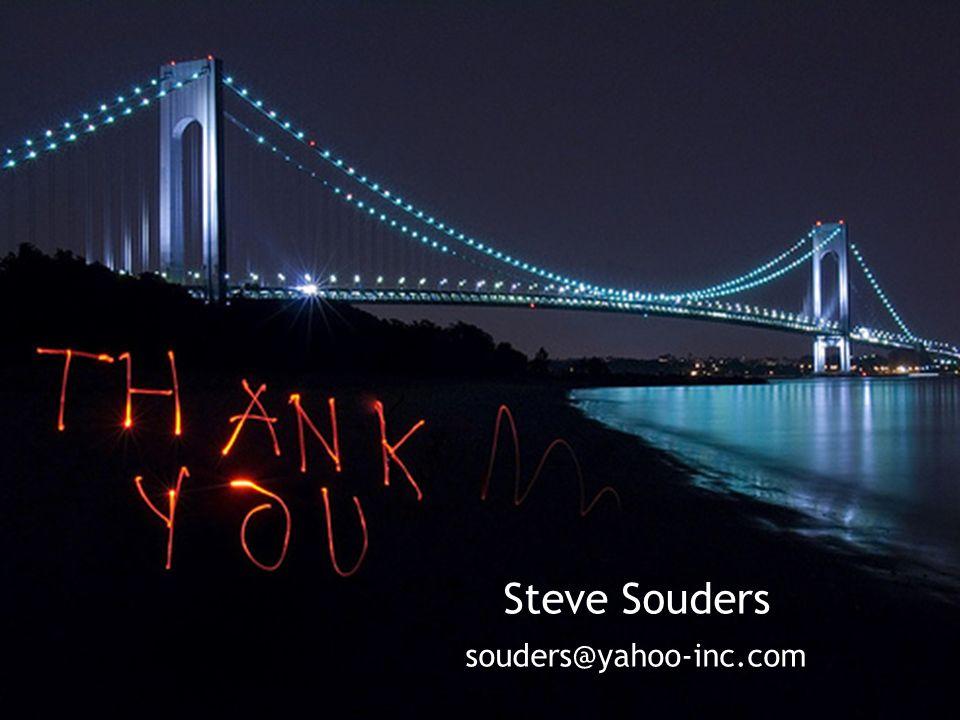 Steve Souders souders@yahoo-inc.com