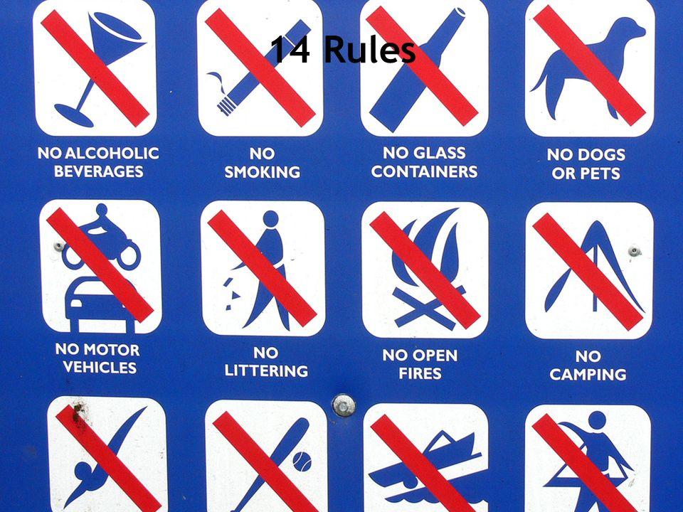 14 Rules