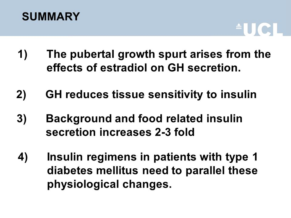 4) Insulin regimens in patients with type 1 diabetes mellitus need to parallel these physiological changes.