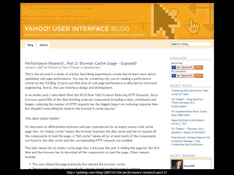 http://yuiblog.com/blog/2007/01/04/performance-research-part-2/