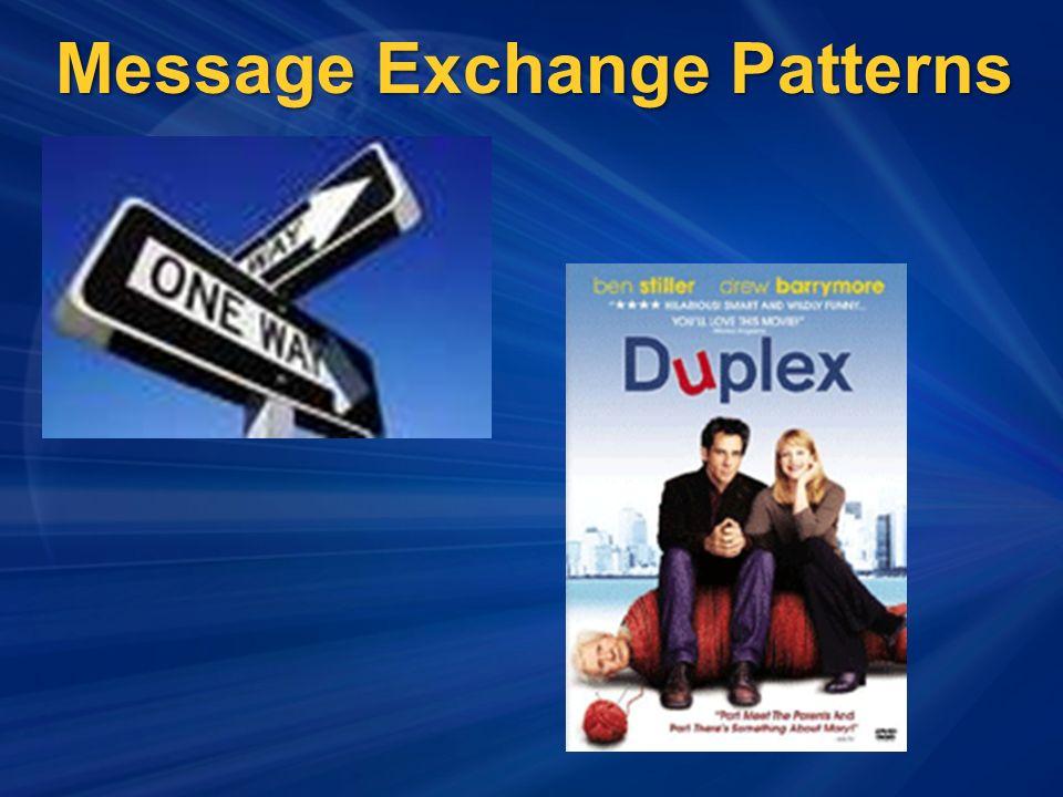 Message Exchange Patterns