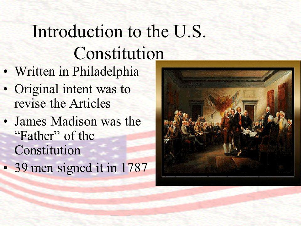 The PreambleThe Introduction to the Constitution Two main Questions found in the Preamble: 1.