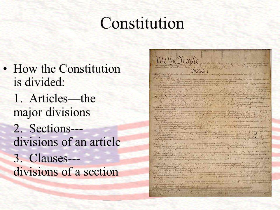Article VIGeneral Provisions Section One - Could the new government evade debts owed as a result of the Revolutionary War.