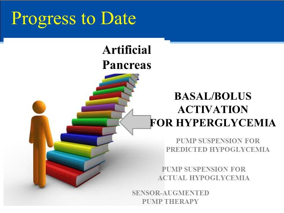 Artificial Pancreas SENSOR-AUGMENTED PUMP THERAPY PUMP SUSPENSION FOR ACTUAL HYPOGLYCEMIA PUMP SUSPENSION FOR PREDICTED HYPOGLYCEMIA BASAL/BOLUS ACTIV