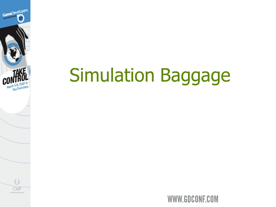 Simulation Baggage