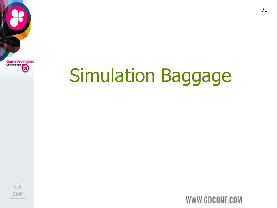 39 Simulation Baggage