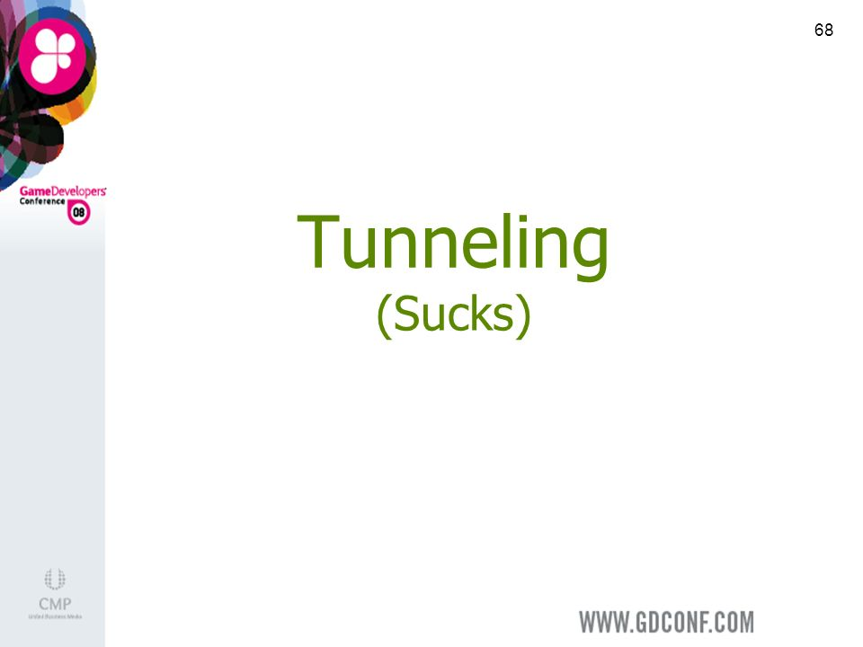 68 Tunneling (Sucks)
