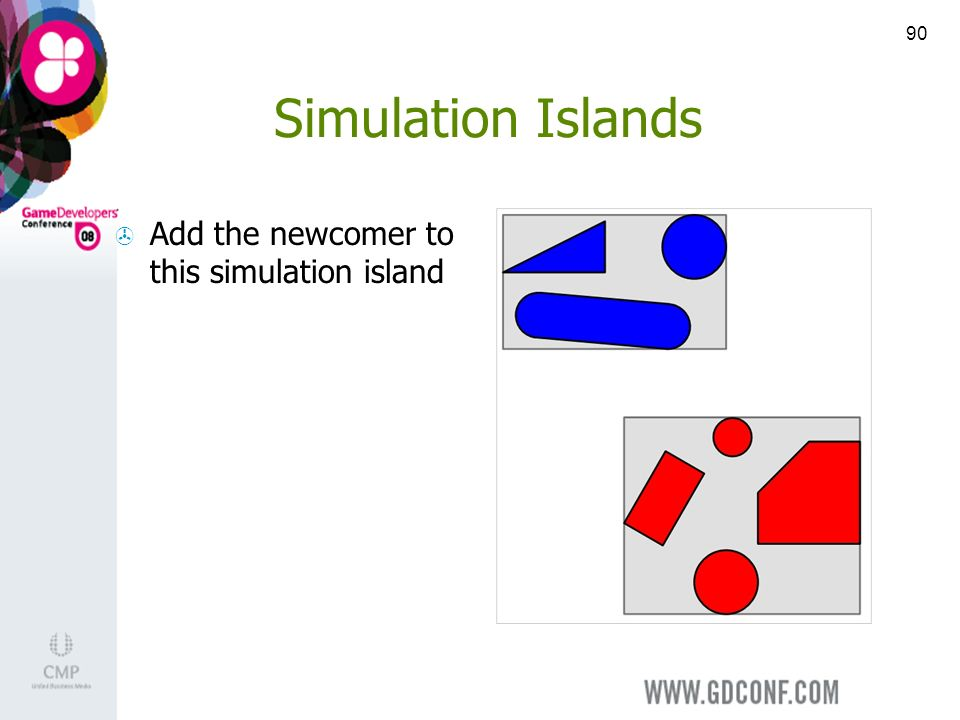 90 Simulation Islands Add the newcomer to this simulation island