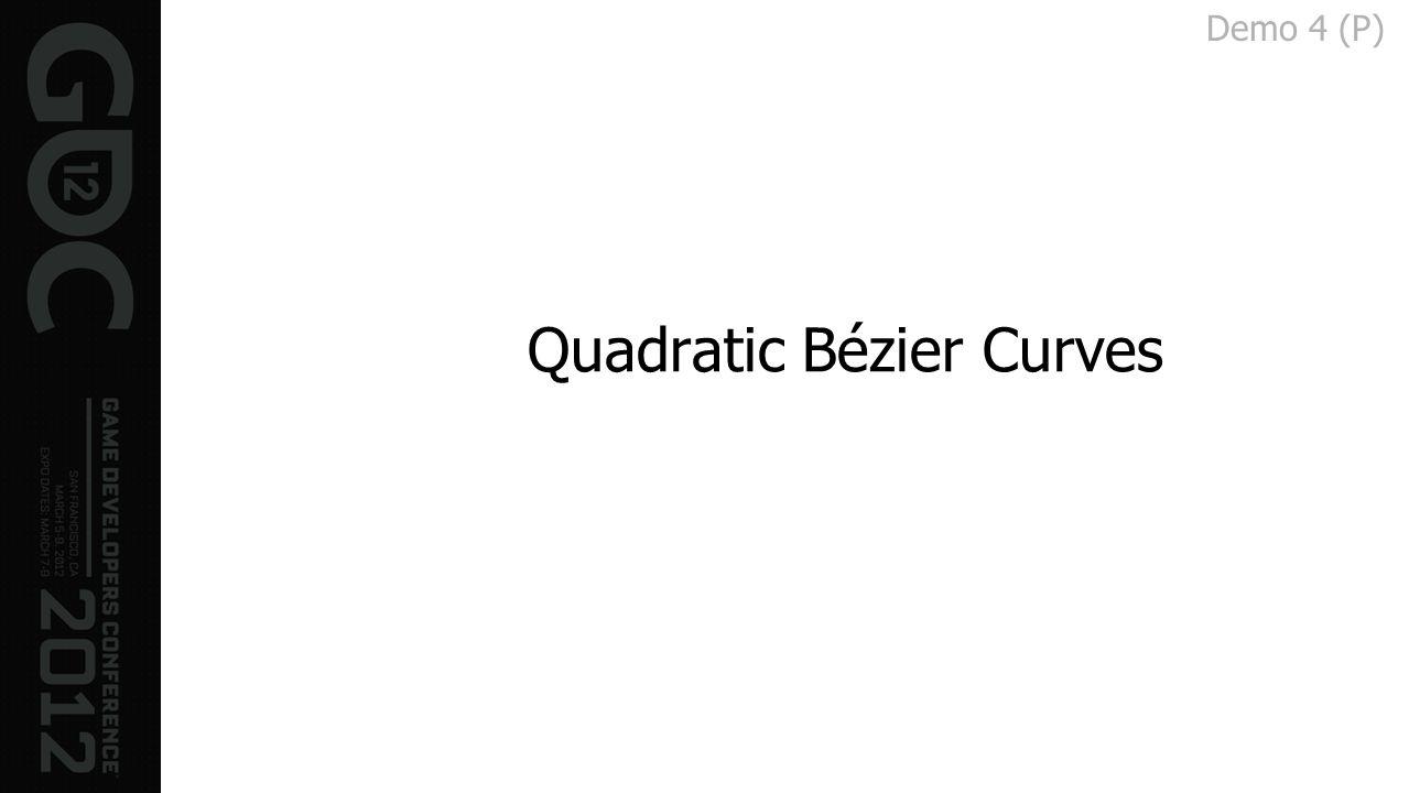 Quadratic Bézier Curves Demo 4 (P)