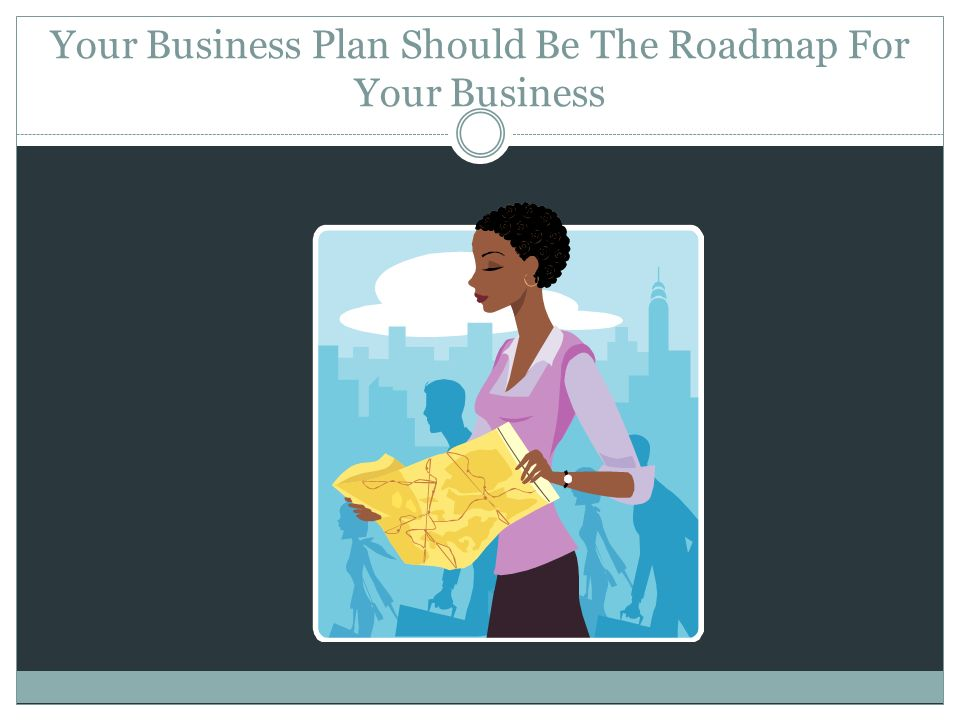 Your Business Plan Should Be The Roadmap For Your Business