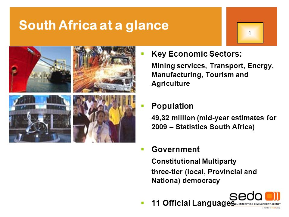SMME Performance Growth Trends SA Economic Growth 5,4% in 2006, 5,1% in 2007 and 3,1% in 2008 in 2007 there were 27% more formally registered enterprises in the Stats SA Integrated Business register than in 2004.