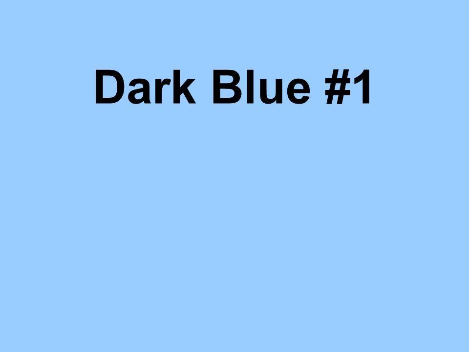 Dark Blue #1