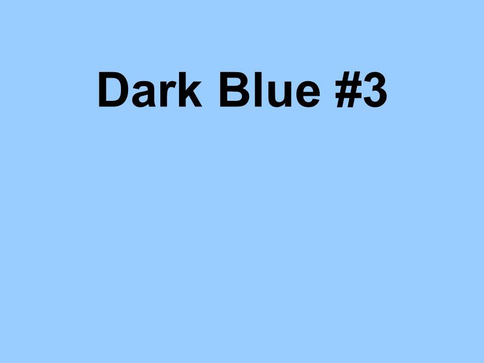 Dark Blue #3