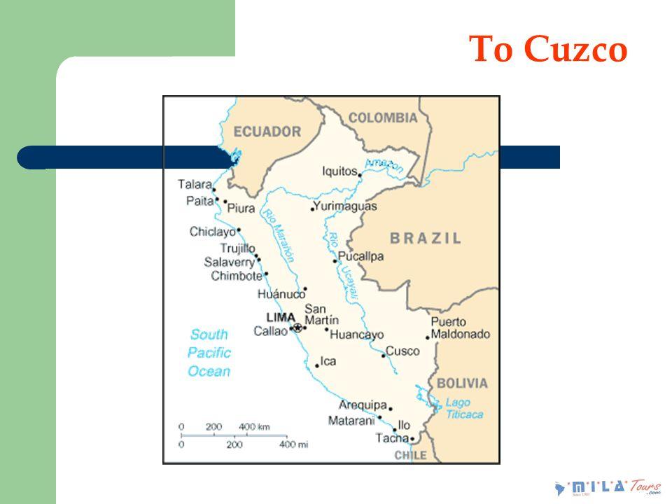 To Cuzco