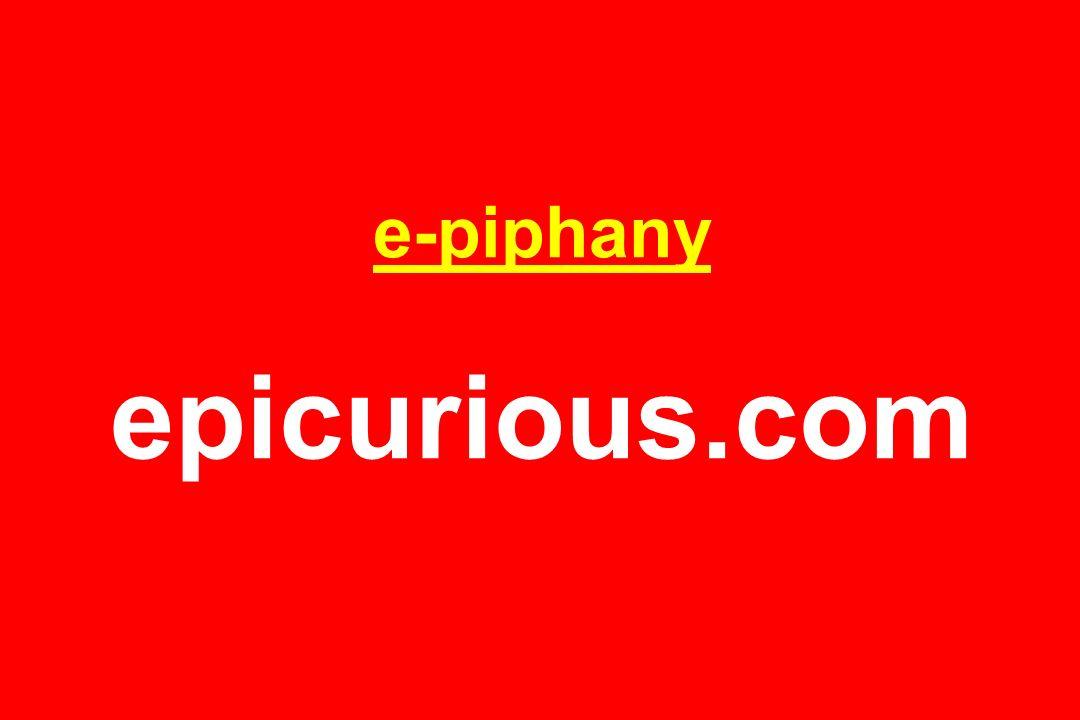 e-piphany epicurious.com