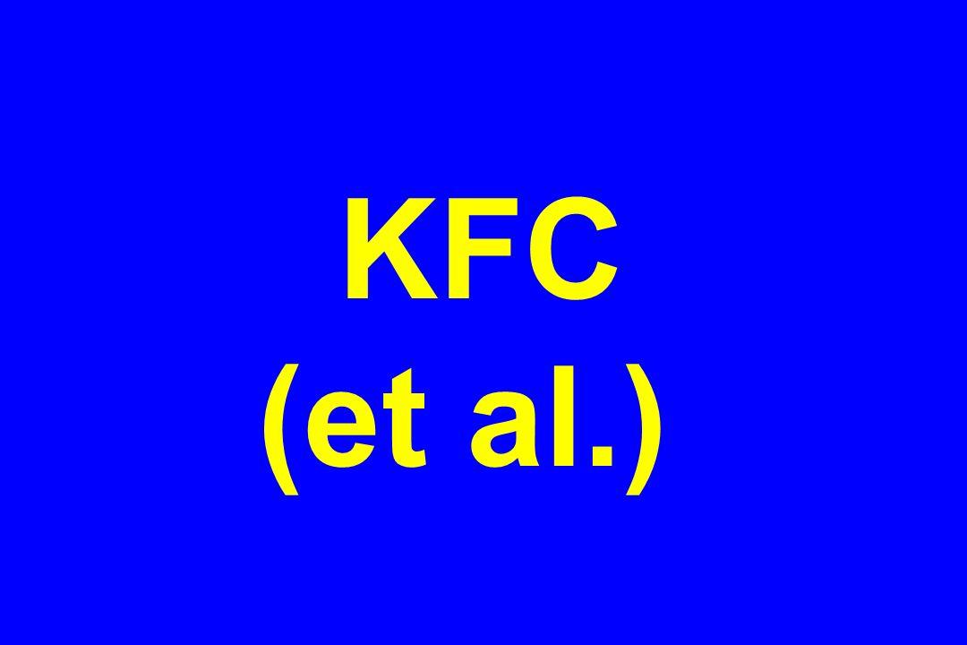 KFC (et al.)